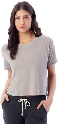Alternative Apparel Headliner vintage jersey cropped t-shirt