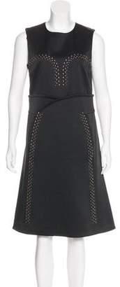 Derek Lam Embellished Knee-Length Dress w/ Tags