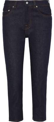 Acne Studios Row Cropped Mid-rise Straight-leg Jeans