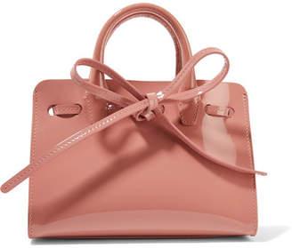 Mansur Gavriel - Sun Mini Mini Patent-leather Tote - Pink $395 thestylecure.com