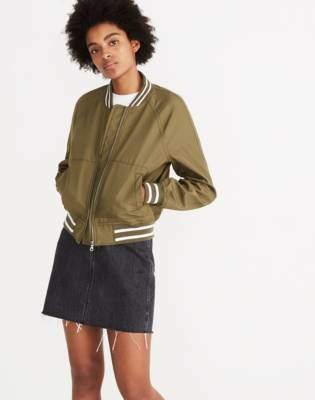 Madewell Varsity Bomber Jacket