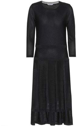 Agnona Jacquard midi dress