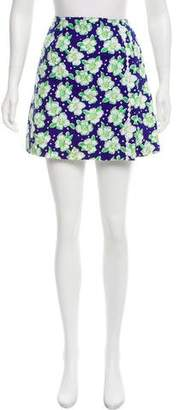 Lilly Pulitzer Floral Mini Skirt