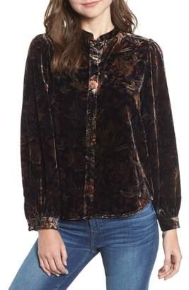 Paige Nayela Velvet Shirt