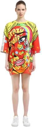 Moschino Eyes Oversized Jersey T-Shirt Dress