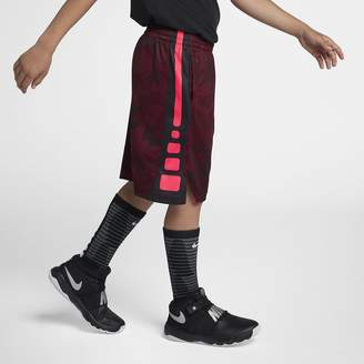 Nike Dri-FIT Big Kids' (Boys') Printed Basketball Shorts