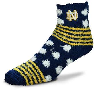 For Bare Feet Notre Dame Fighting Irish Homegater Sleep Soft Socks