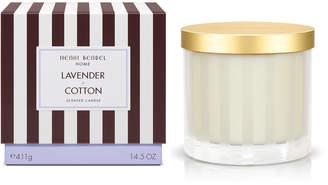 Henri Bendel Lavender & Cotton Scented Candle