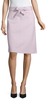 Liz Claiborne Spring Bouquet Womens A-Line Skirt