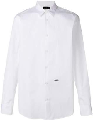 DSQUARED2 plain button shirt