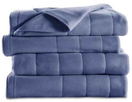 Quilted Fleece Electric Blanket