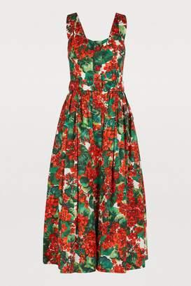 Dolce & Gabbana Floral print midi-dress
