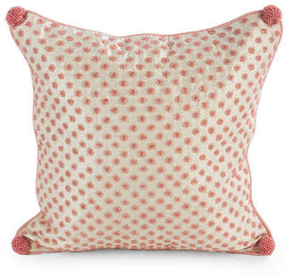 Mackenzie Childs MacKenzie-Childs Rosebud Pillow