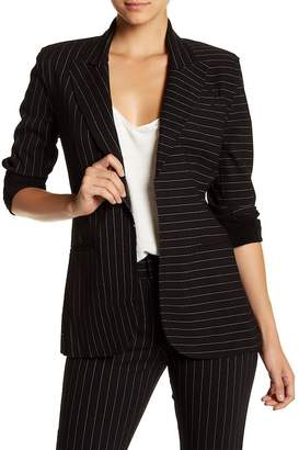 Norma Kamali Pinstriped Blazer