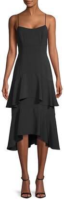 Plenty by Tracy Reese Women's Flounce Slip Dress