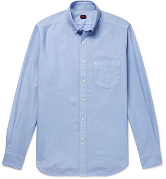 Piombo MP Massimo Button-Down Collar Cotton Oxford Shirt