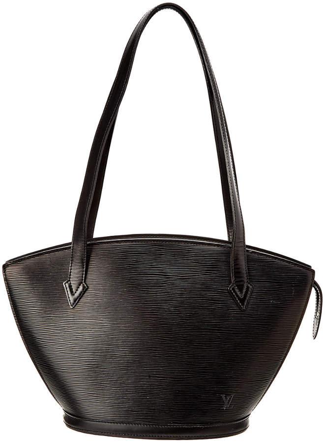 Louis Vuitton Black Epi Leather St Jacques Pm