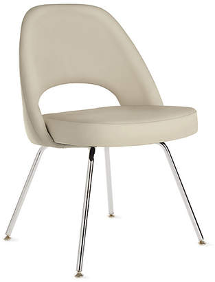 Design Within Reach Knoll Saarinen Executive Side Chair with Metal Legs, Tan at DWR