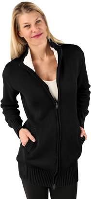 Soybu Women's Libations Full-Zip Sweater Coat