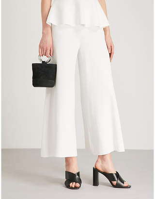 Theory Henriet wide-leg knitted trousers