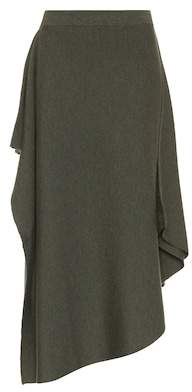 J.W.Anderson Asymmetric wool skirt