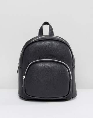 ASOS Mini Backpack With Front Pocket $32 thestylecure.com