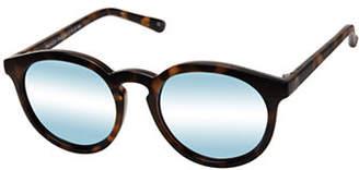 Le Specs Palazzo 51mm Round Sunglasses