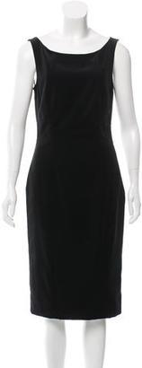La Perla Lace-Accented Velvet Dress w/ Tags $245 thestylecure.com