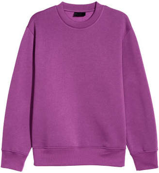 H&M Sweatshirt - Purple