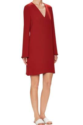 Theory Crepe Shift Dress