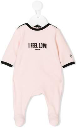 Givenchy Kids I feel Love printed pajamas