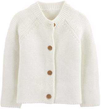Osh Kosh Oshkosh Bgosh Baby Girl Textured Cardigan Sweater