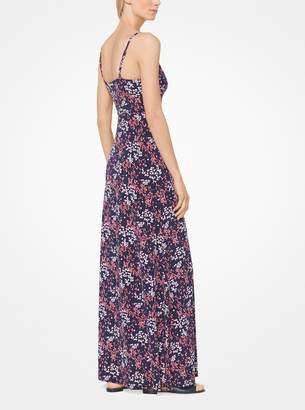 MICHAEL Michael Kors Floral Matte-Jersey Maxi Dress