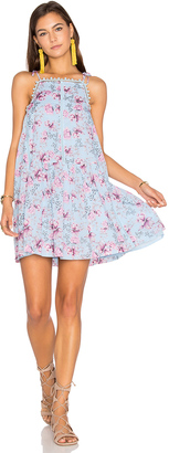 Seafolly Nouveau Floral Lace Trim Dress $151 thestylecure.com