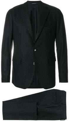 Tagliatore speckled finish two piece suit