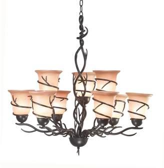Kenroy Home Twigs 9-Light Chandelier