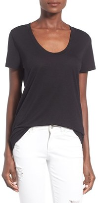 Women's Bp. Scoop Neck Boyfriend Tee $19 thestylecure.com