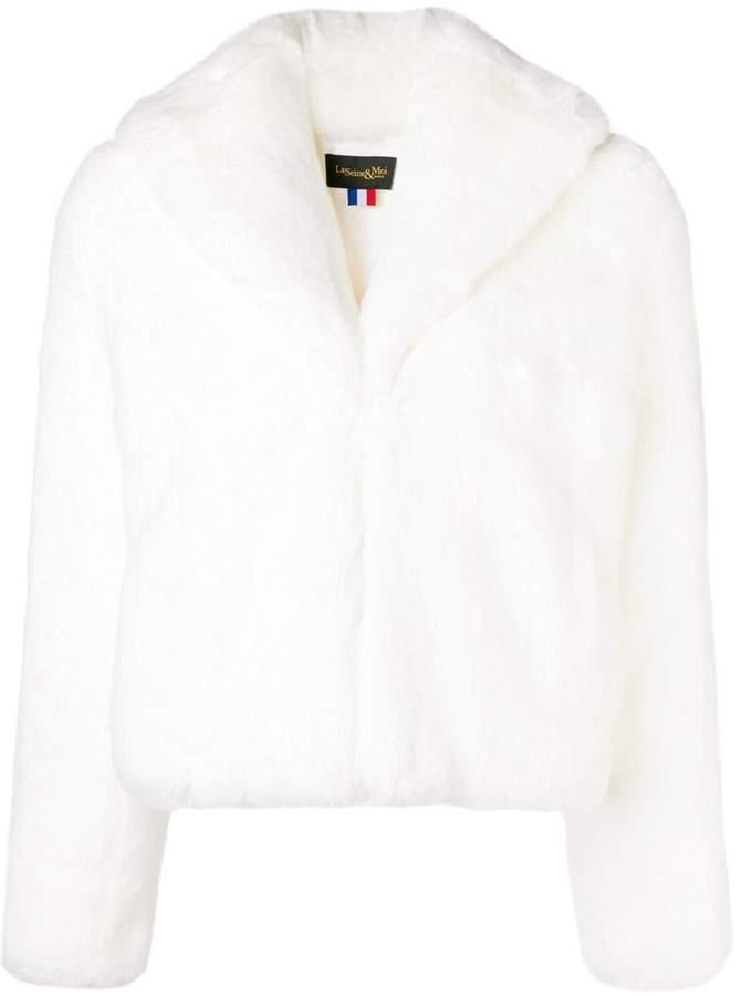La Seine & Moi Erelle faux fur jacket