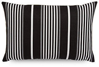 DISTINCTLY HOME Rectangular Striped Print Cushion