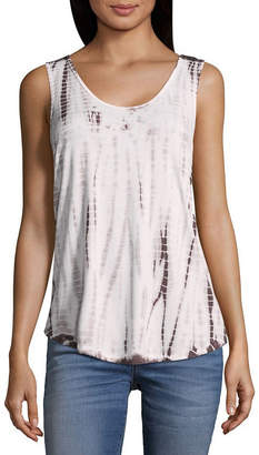 A.N.A Womens Scoop Neck Sleeveless Tank Top