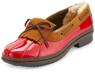 UGG Haylie Waterproof Patent Loafer $125 thestylecure.com