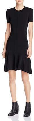 T by Alexander Wang Knit Crew Dress $500 thestylecure.com