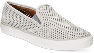 Sperry Women's Seaside Slip-On Sneakers $75 thestylecure.com
