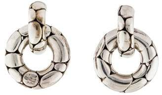 John Hardy Kali Small Door Knocker Earrings