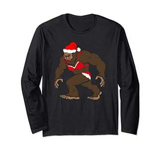 Differential Christmas Shirt Bigfoot Wearing Christmas T-Shi