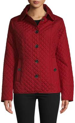MICHAEL Michael Kors Quilted Long-Sleeve Jacket