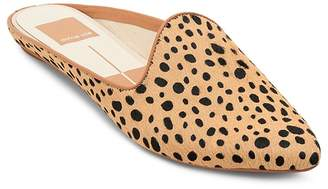 Dolce Vita Women's Grant Leopard Print Calf Hair Mules