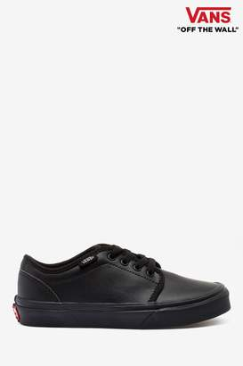 Vans Womens 106 Vulcanised Trainers - Black