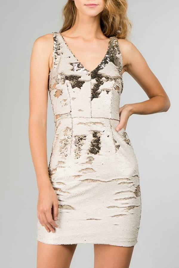 Reversible Sequin Dress