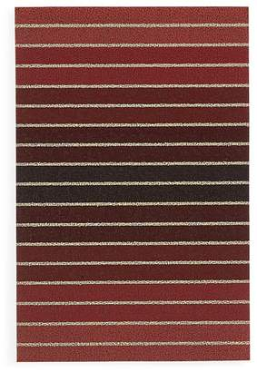 "Chilewich Stripe Shag Floor Mat, 24"" x 36"""